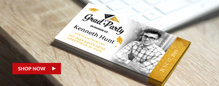 Business Card Size Graduation Announcements