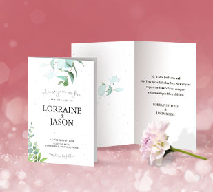 Greeting Card Invitations